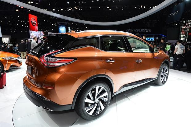 2015 Nissan Murano: New York Auto Show featured image large thumb2