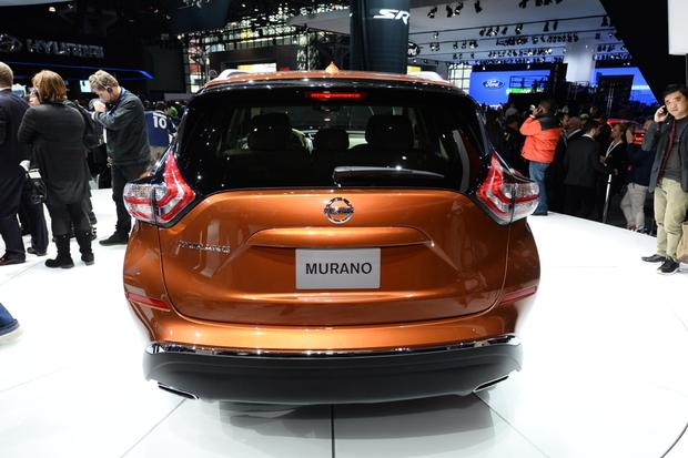 2015 Nissan Murano: New York Auto Show featured image large thumb4