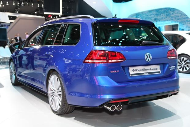 Volkswagen Golf SportWagen 4Motion Concept: New York Auto Show featured image large thumb4