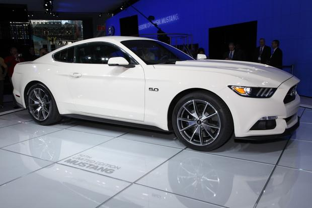 2015 Ford Mustang 50 Year Limited Edition: New York Auto Show featured image large thumb0