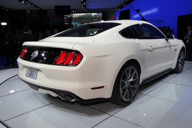 2015 Ford Mustang 50 Year Limited Edition: New York Auto Show featured image large thumb1