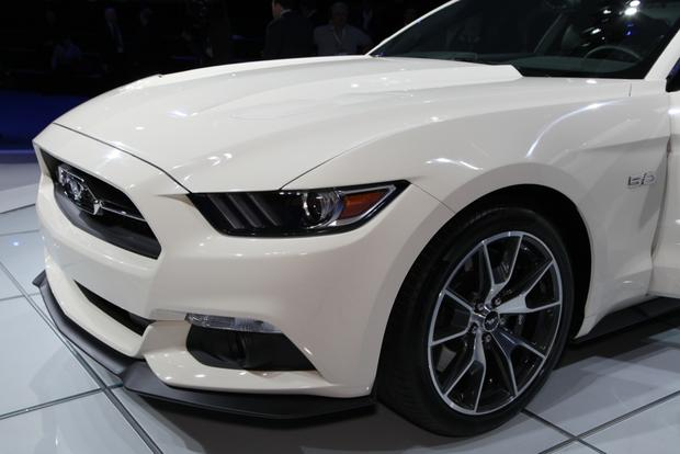 2015 Ford Mustang 50 Year Limited Edition: New York Auto Show featured image large thumb2