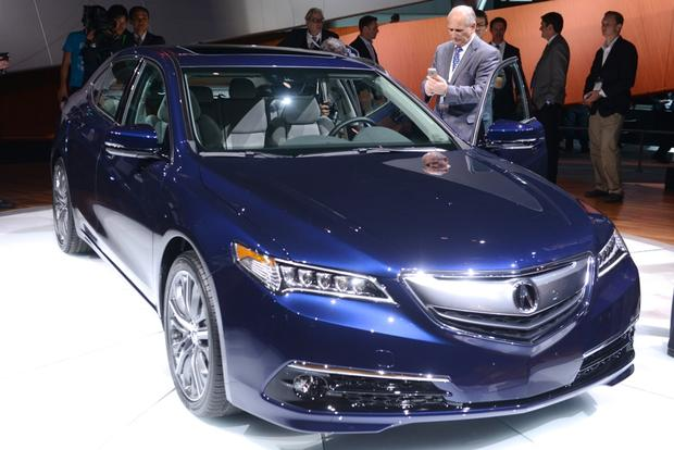 2015 Acura TLX: New York Auto Show featured image large thumb0