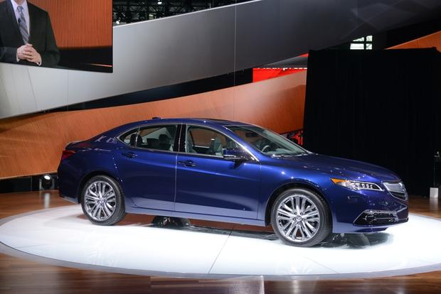 2015 Acura TLX: New York Auto Show featured image large thumb1