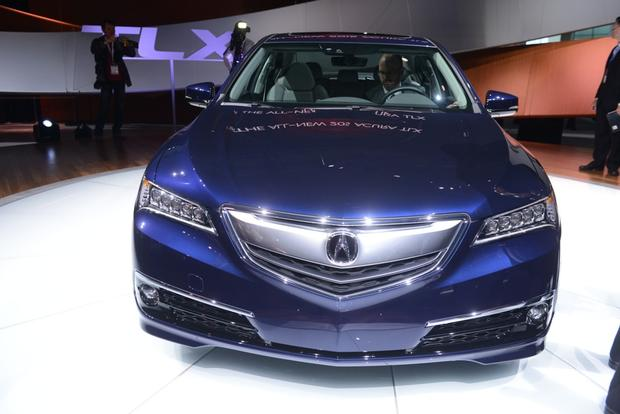 2015 Acura TLX: New York Auto Show featured image large thumb3