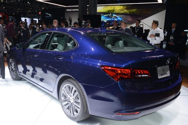 2015 Acura TLX: New York Auto Show featured image large thumb4