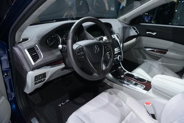 2015 Acura TLX: New York Auto Show featured image large thumb7