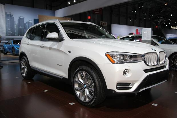 2015 BMW X3: New York Auto Show featured image large thumb1