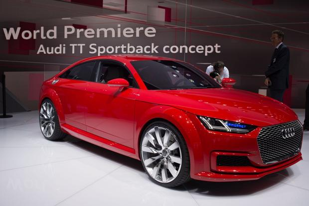 Audi TT Roadster and Audi TT Sportback: Paris Auto Show featured image large thumb0