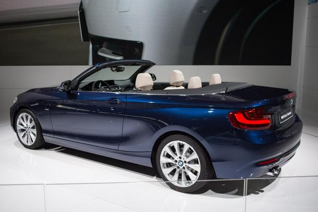 2015 BMW 2 Series Convertible: Paris Auto Show featured image large thumb1