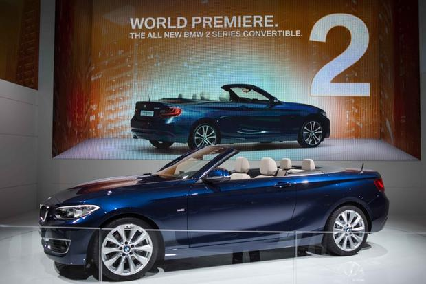 2015 BMW 2 Series Convertible: Paris Auto Show featured image large thumb2