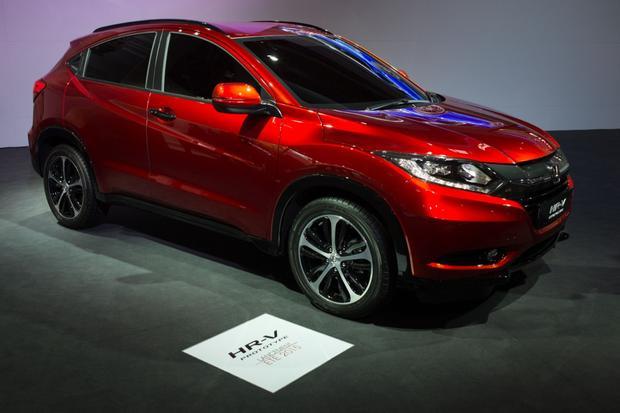 2015 Honda HR-V: Paris Auto Show