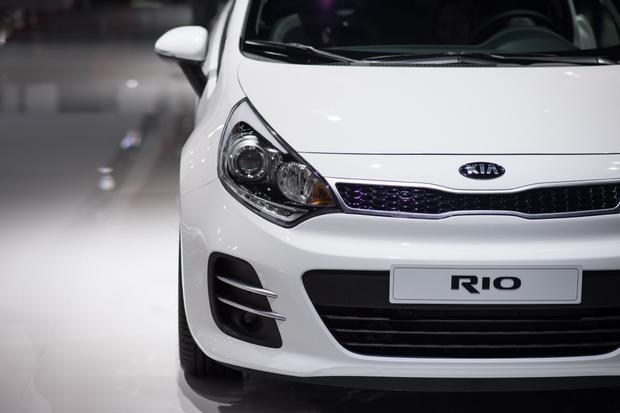 2015 Kia Rio: Paris Auto Show