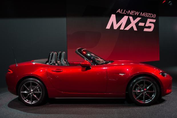 Creative 2016 Mazda MX5 Miata Paris Auto Show  Autotrader