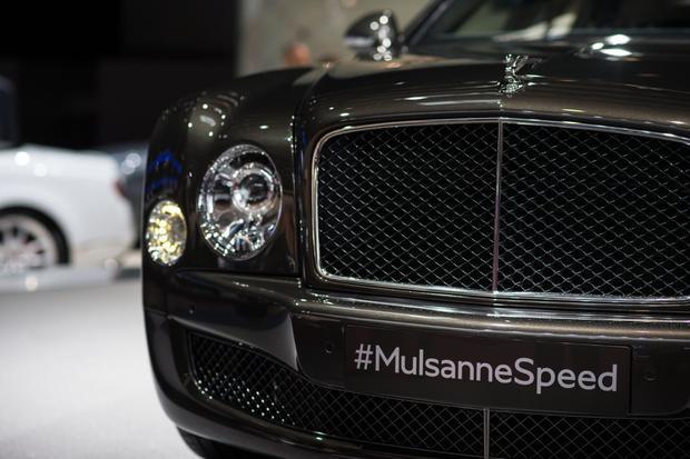 2015 Bentley Mulsanne Speed: Paris Auto Show