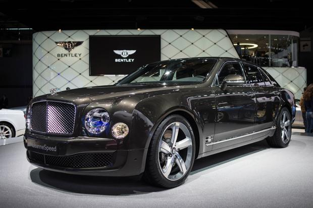 2015 Bentley Mulsanne Speed: Paris Auto Show featured image large thumb2