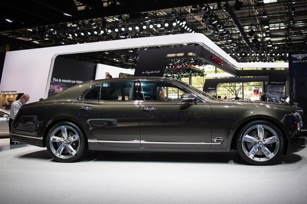 2015 Bentley Mulsanne Speed: Paris Auto Show - Autotrader