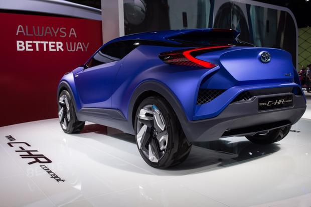 Toyota C-HR Concept: Paris Auto Show featured image large thumb2