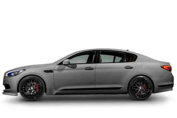 High-Performance Kia K900 Headlines Kia Lineup: SEMA Show featured image large thumb0