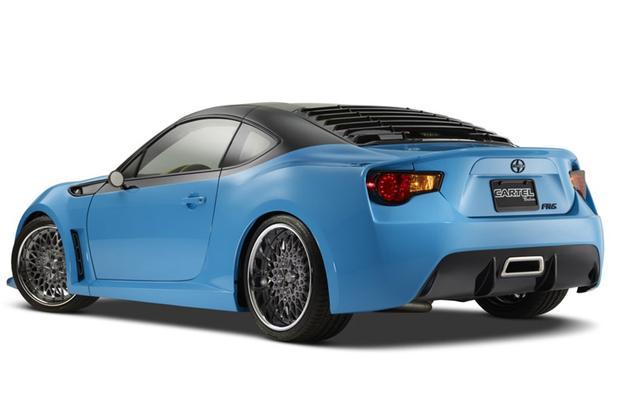 Scion Concept Cars: SEMA Show