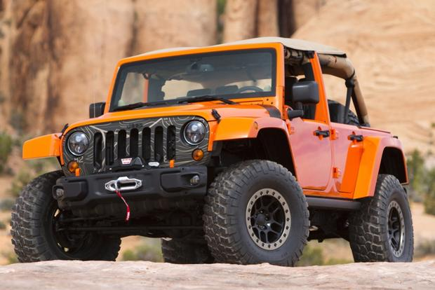 Jeep Wrangler MOJO and Wrangler Maximum Performance: SEMA Show featured image large thumb0