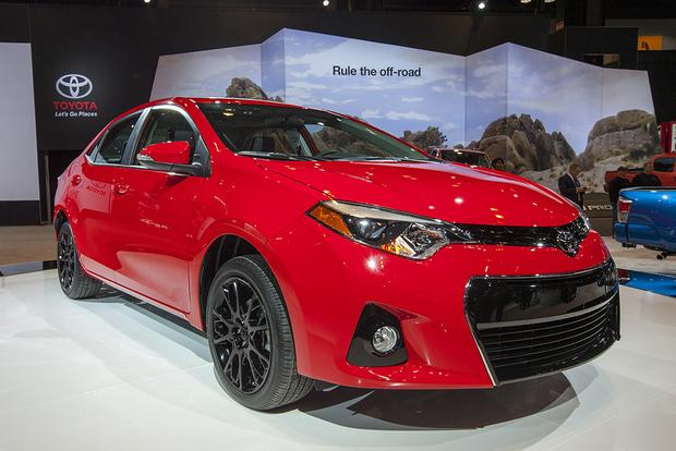 2016 toyota corolla special edition chicago auto show autotrader. Black Bedroom Furniture Sets. Home Design Ideas