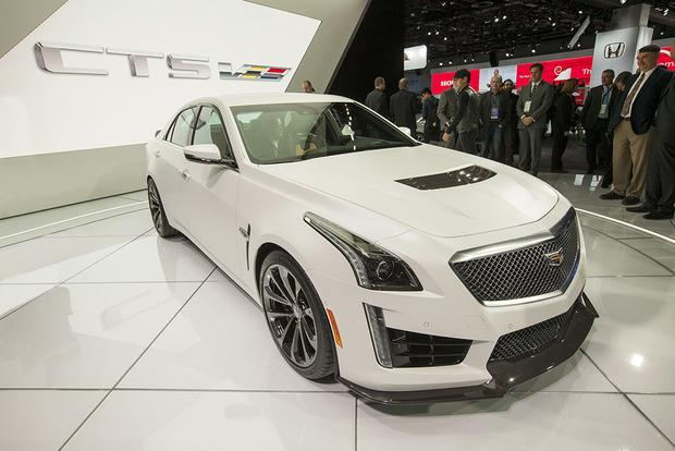 2016 Cadillac CTS-V: Detroit Auto Show featured image large thumb0