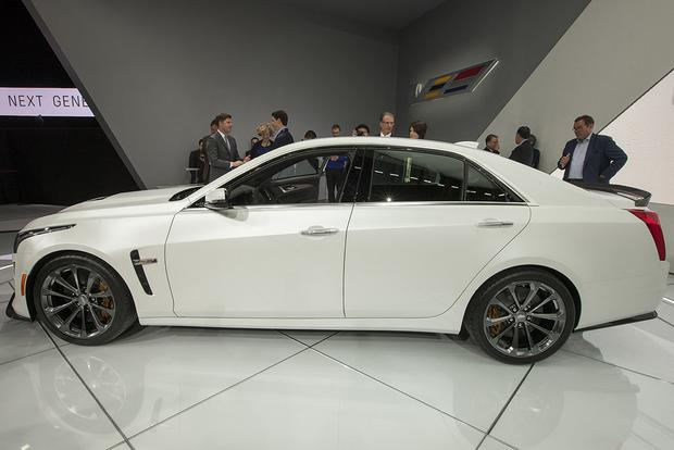 Cadillac Cts V Autotrader >> 2016 Cadillac CTS-V: Detroit Auto Show - Autotrader
