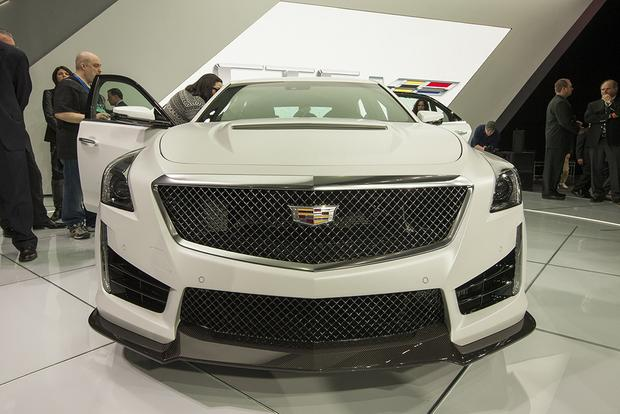 2016 Cadillac CTS-V: Detroit Auto Show featured image large thumb5