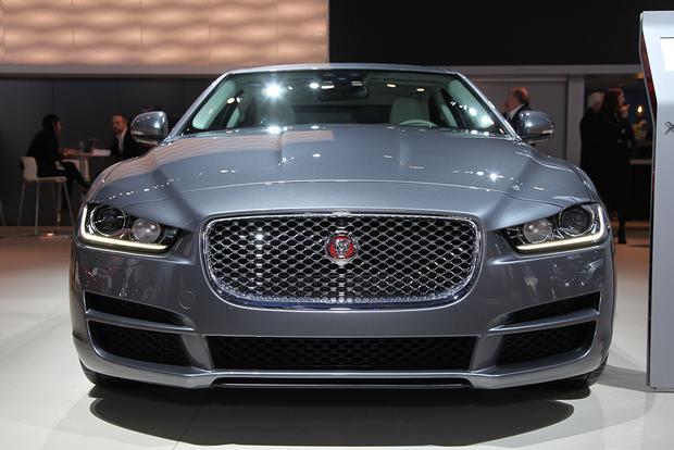 2016 Jaguar XE: Detroit Auto Show