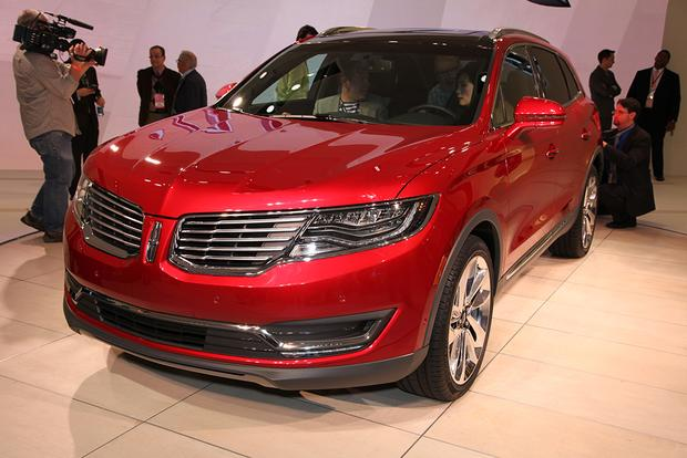 2016 Lincoln MKX: Detroit Auto Show featured image large thumb0