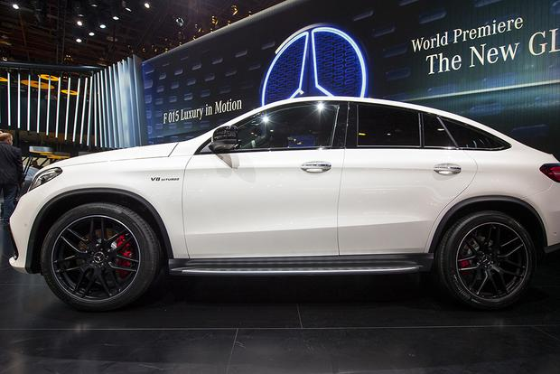 Mercedes 4 Matic >> 2016 Mercedes-Benz GLE 450 AMG Sport Coupe 4MATIC Among 3 New AMGs: Detroit Auto Show - Autotrader