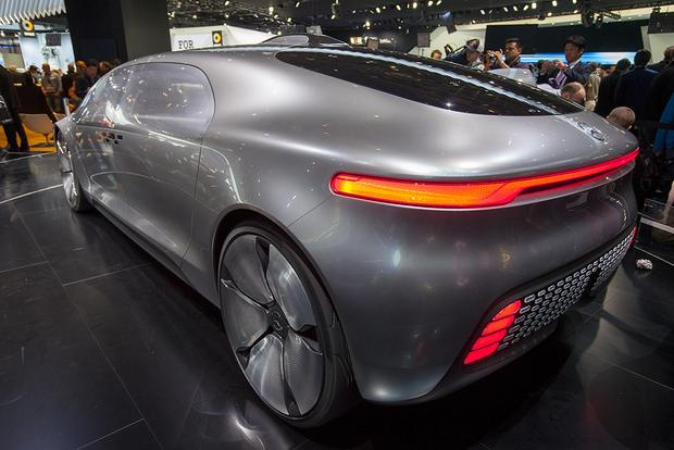 Benz F 015 Luxury in Motion Concept: Detroit Auto Show - Autotrader