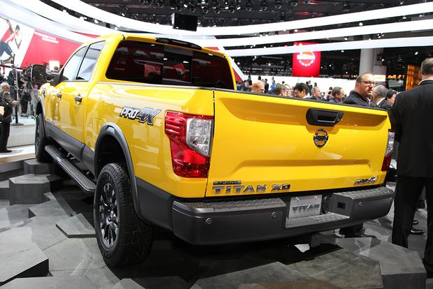 2016 Nissan Titan XD: Detroit Auto Show featured image large thumb7