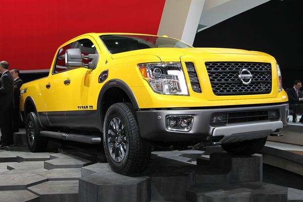 2016 Nissan Titan XD: Detroit Auto Show featured image large thumb9
