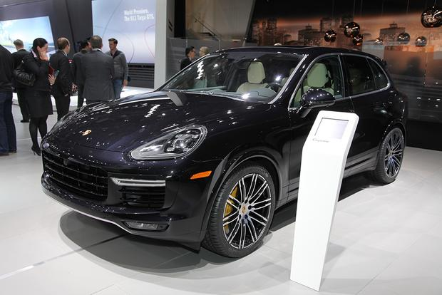 2016 Porsche Cayenne Turbo S: Detroit Auto Show featured image large thumb2