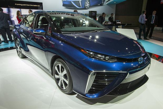 Toyota Mirai Detroit Auto Show Autotrader