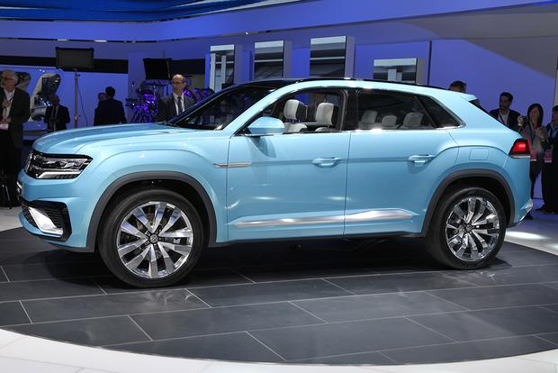 Vw Cross Coupe Gte Release Date >> Volkswagen Cross Coupe Gte Concept Detroit Auto Show Autotrader