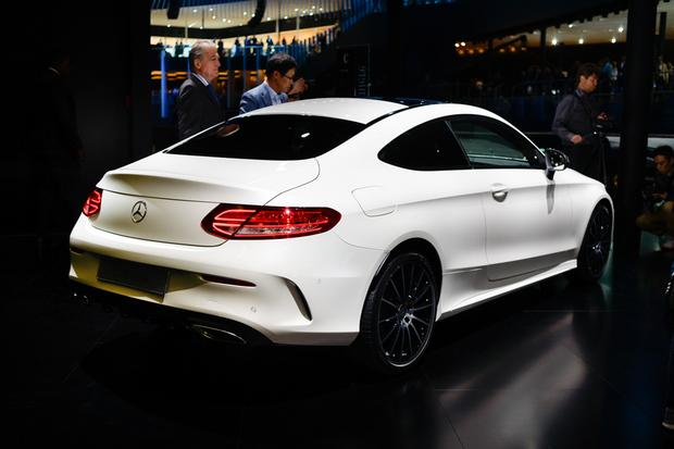 2017 Mercedes-Benz C-Class Coupe: Frankfurt Auto Show featured image large thumb4