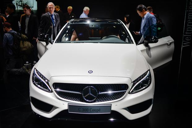 2017 Mercedes-Benz C-Class Coupe: Frankfurt Auto Show featured image large thumb0