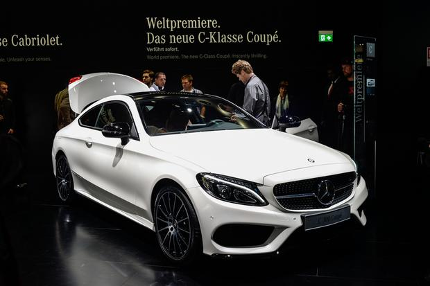 2017 Mercedes-Benz C-Class Coupe: Frankfurt Auto Show featured image large thumb1