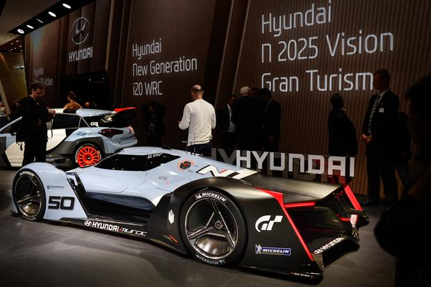 Hyundai N 2025 Vision Gran Turismo Concept: Frankfurt Auto Show featured image large thumb2