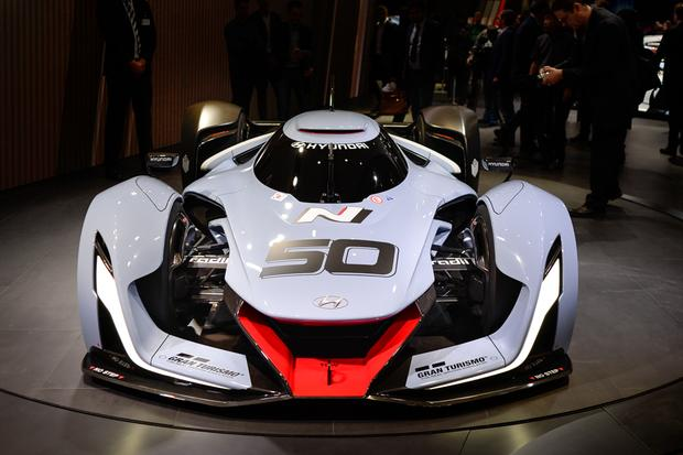 Hyundai N 2025 Vision Gran Turismo Concept: Frankfurt Auto Show featured image large thumb0