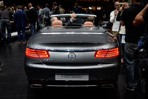 2016 Mercedes-Benz S-Class Cabriolet: Frankfurt Auto Show featured image large thumb2