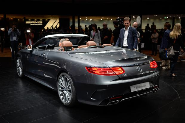 2016 Mercedes-Benz S-Class Cabriolet: Frankfurt Auto Show featured image large thumb4