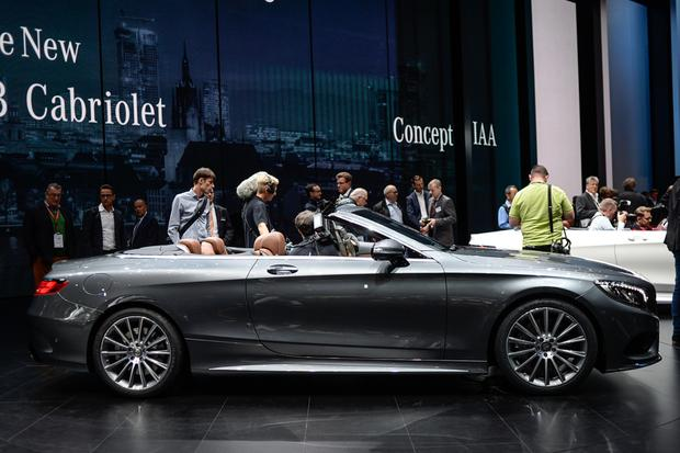 2016 Mercedes-Benz S-Class Cabriolet: Frankfurt Auto Show featured image large thumb1