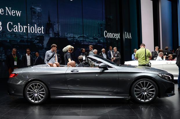 2016 Mercedes-Benz S-Class Cabriolet: Frankfurt Auto Show