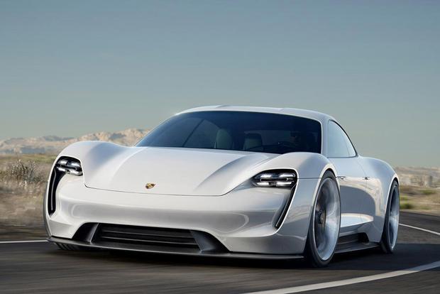 Porsche Mission E Concept: Frankfurt Auto Show