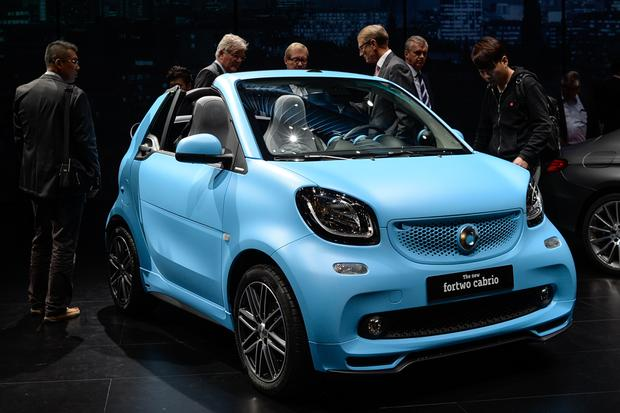 smart fortwo cabriolet: Frankfurt Auto Show featured image large thumb1