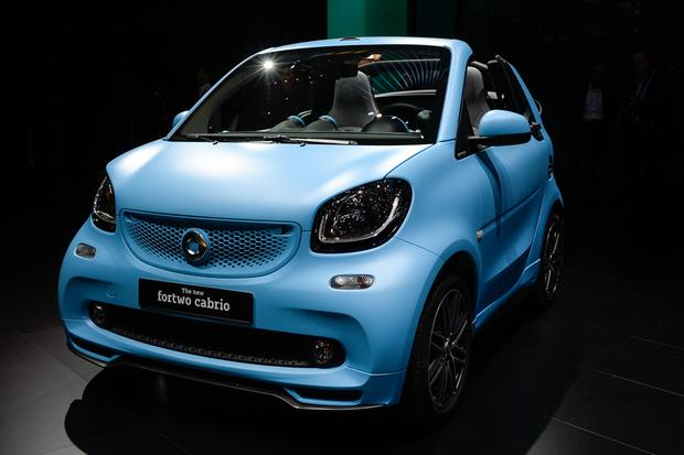 smart fortwo cabriolet: Frankfurt Auto Show featured image large thumb3